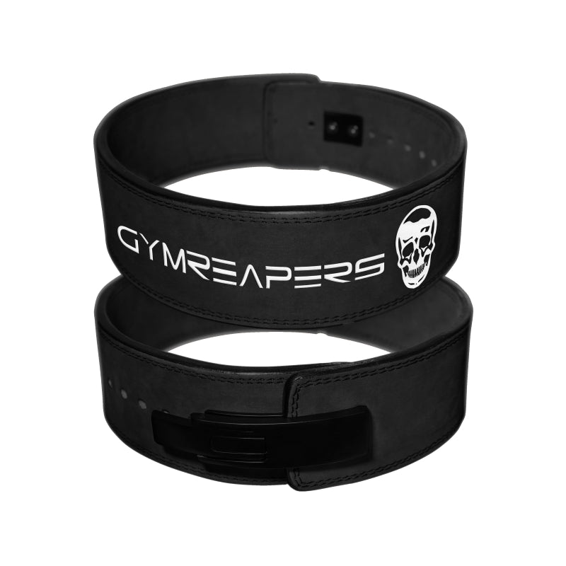 Gymreapers Lever Lifting Belt in Black