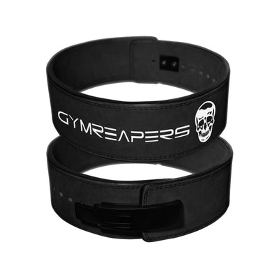 10MM Lever Belt - Black - Gymreapers