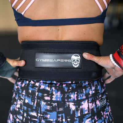 Gymreapers Crossfit Nylon Belt back side