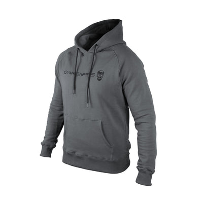 Gymreapers hoodie in gray color