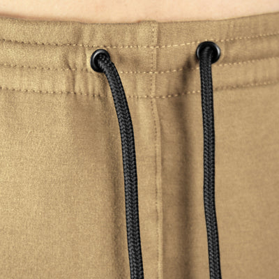 Gymreapers joggers in sand color with drawstrings