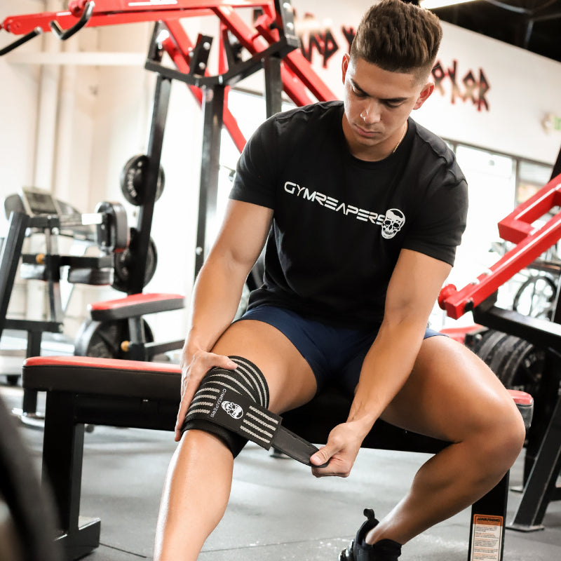 Gymreapers Knee Wraps in Black