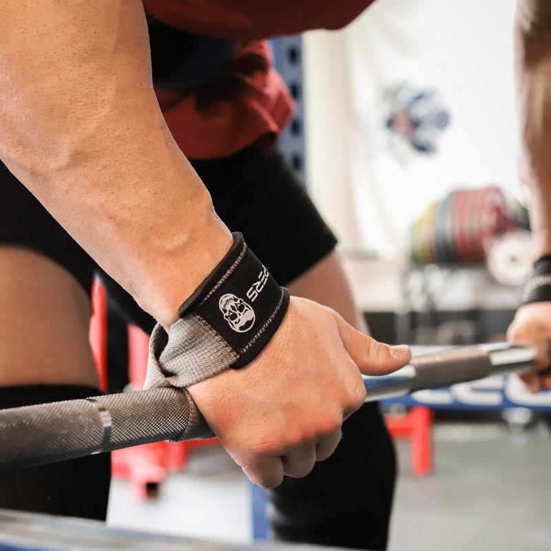 Gymreapers Lifting Straps in Black