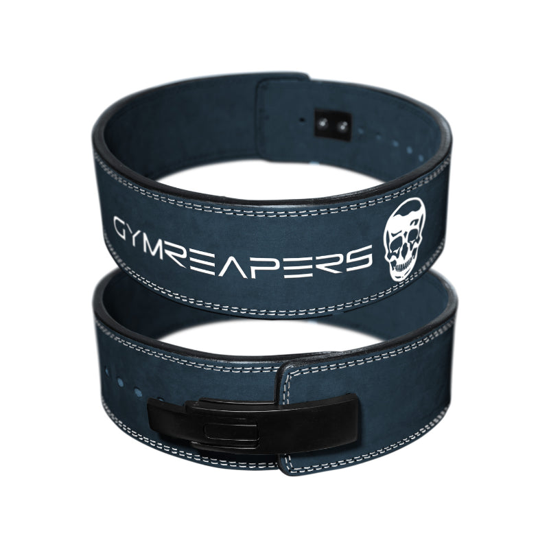 Gymreapers Lever Lifting Belt in Navy