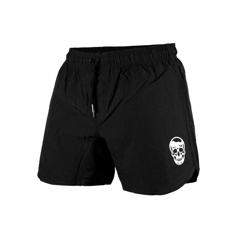 performance training shorts in black