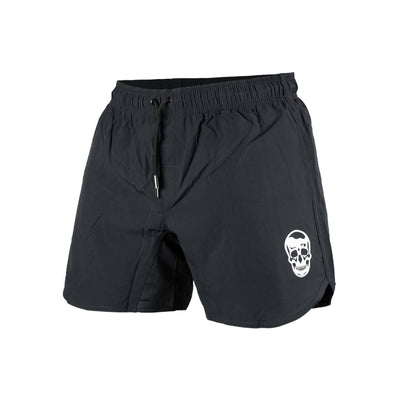 performance training shorts in gray