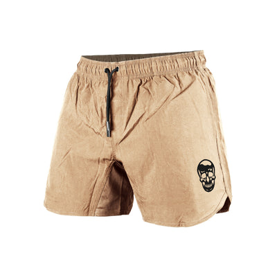 durable shorts in sand color