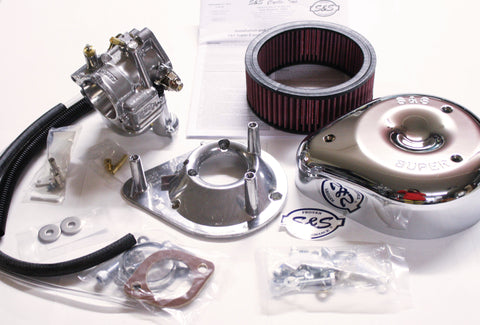 Harley Ironhead sportster S&S super E carburetor kit - 1957-78 XL