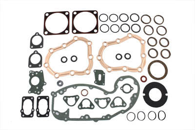 "James Harley 37-48 BT Flathead 74"" 80"" engine gasket kit"