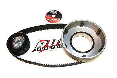 "65-78 big twin Shovelhead BDL 1.5"" 8mm open kick only Belt Drive primary"