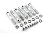 Ironhead Sportster 12 point cylinder head bolts - Chrome