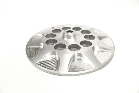 Big twin aluminum clutch pressure plate - Milled