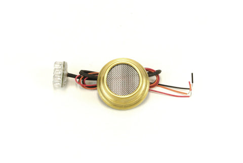 AHC Ripple Tit LED brake tail light - Brass