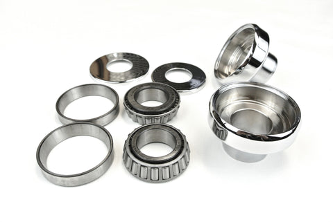 "Big Twin neck cups - Standard 1"" front end with Timken bearings"