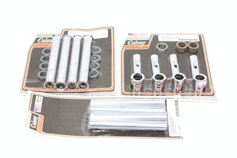 Colony Ironhead Sportster pushrod tubes covers - Complete set