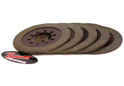 Harley 41-84 big twin performance clutch friction plates - barnett