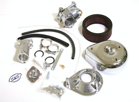 Panhead 1955-65 Big Twin S&S super E carburetor Kit