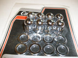 Colony Ironhead Sportster Acorn cylinder base nuts - Chrome