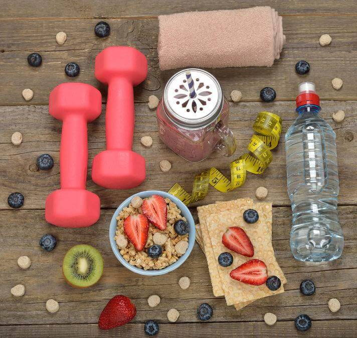 Supplements with Diet and Exercise