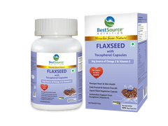 Flaxseed with Tocopherol Veg Capsules
