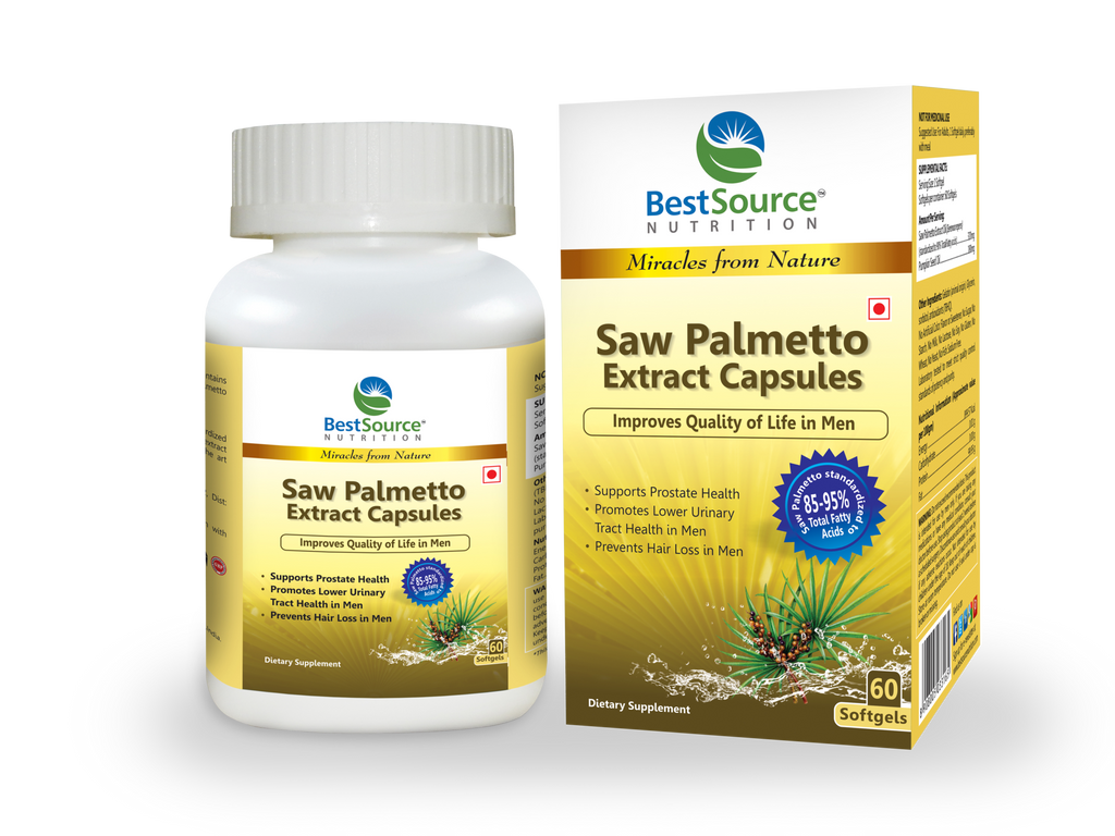 Saw Palmetto Extract Oil Caps - BestSourceNutrition.com
