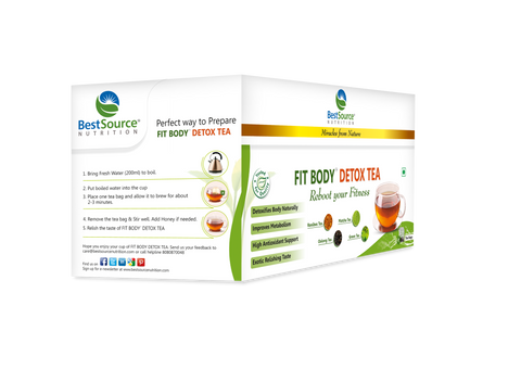 FIT BODY™ Detox Tea - BestSourceNutrition.com