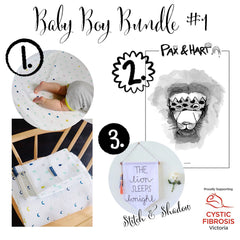 Baby Boy Bundle #1 | Wild and Whimsical Things Auction for CFV