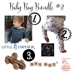 Baby Boy Bundle #2 | Baby Girl Bundle #1 | Wild and Whimsical Things Auction for CFV