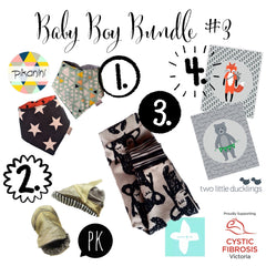Baby Boy Bundle #3 | Baby Girl Bundle #1 | Wild and Whimsical Things Auction for CFV
