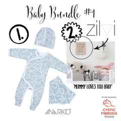 Baby Bundle #1 | Baby Girl Bundle #1 | Wild and Whimsical Things Auction for CFV