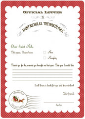 Catch My Party Blog Santa Letter by Serendipity Soiree