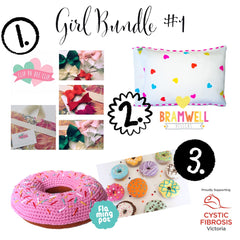 Girl Bundle #1 | Baby Girl Bundle #1 | Wild and Whimsical Things Auction for CFV