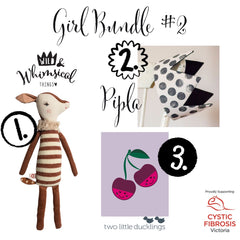Girl Bundle #2 | Baby Girl Bundle #1 | Wild and Whimsical Things Auction for CFV