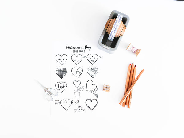 Wild & Whimsical Things DIY Valentine's Day Banner