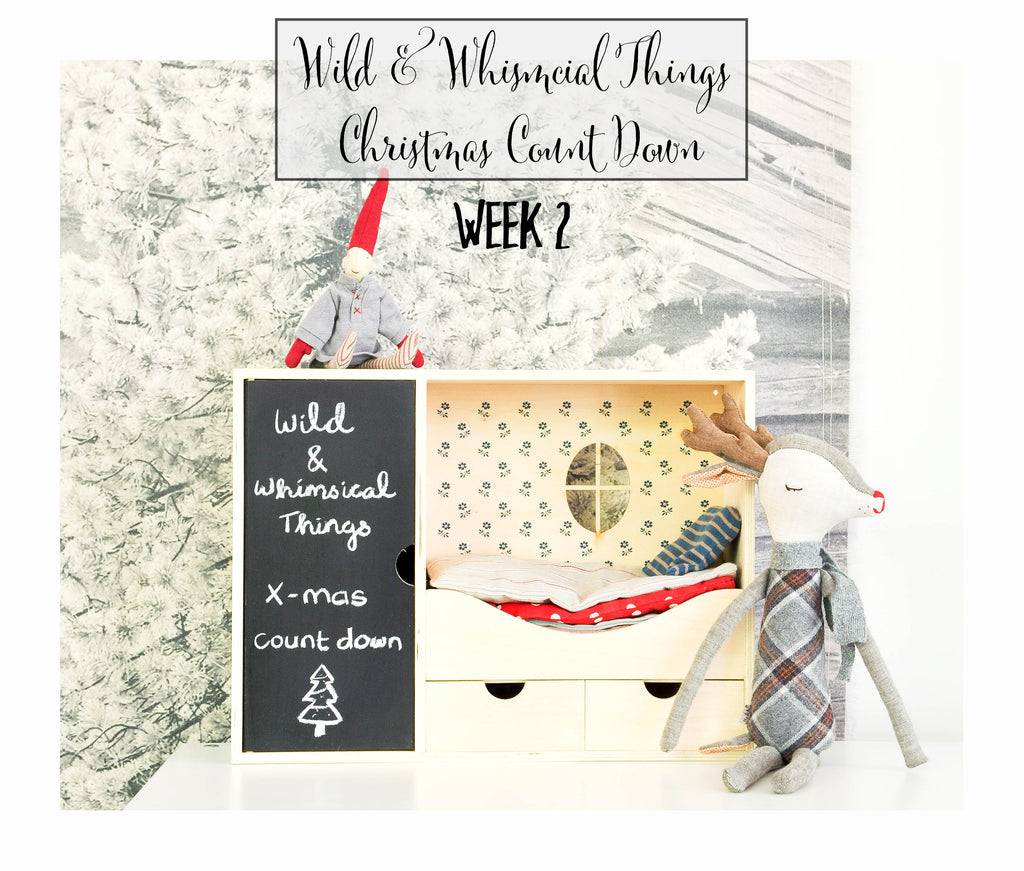 Wild & Whimsical Things Christmas Count Down