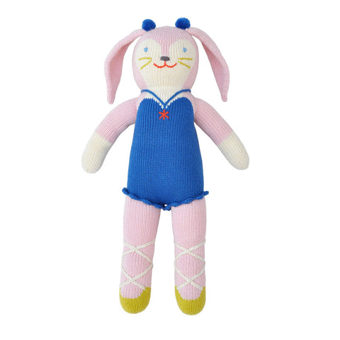 Mirabelle the Bunny Knit Doll by Bla Bla | Wild & Whimsical Things www.wildandwhimsicalthings.com.au