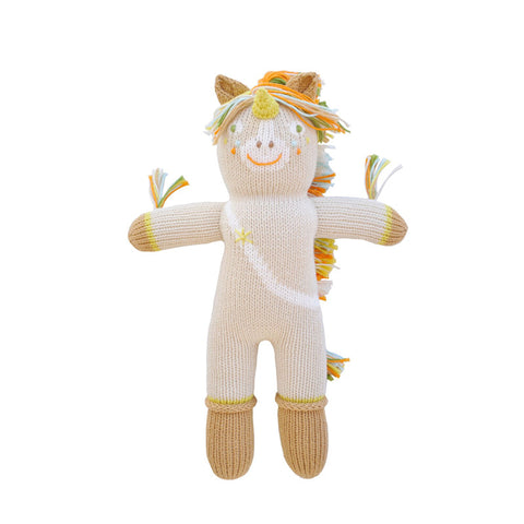 Legend the Unicorn Mini Knit Doll by Bla Bla | Wild & Whimsical Things www.wildandwhimsicalthings.com.au