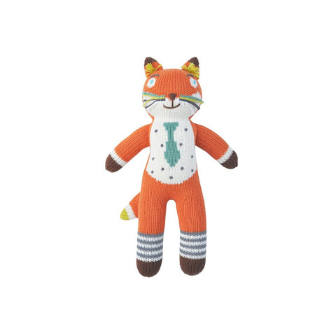 Socks the Fox Mini Knitted Doll by Bla Bla | Wild & Whimsical Things www.wildandwhimsicalthings.com.au