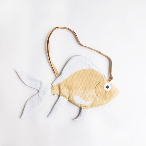 Don Fisher Mustard Goldenfish Handbag