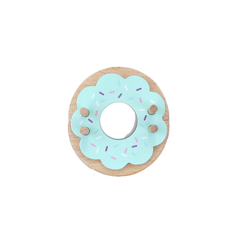 Blue Frost Donut Pom Maker | Wild & Whimsical Things www.wildandwhimsicalthings.com.au