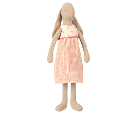 Maileg Bunny Size 3 in Pink Dress