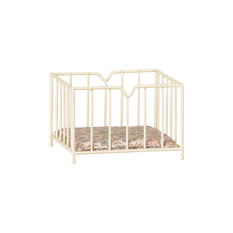 Maileg Furniture Micro Offwhite Playpen