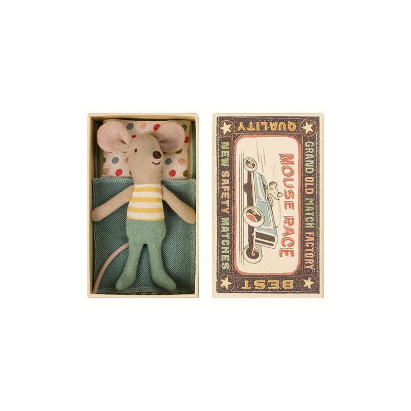 Little Brother Mouse in Box by Maileg | Wild & Whimsical Things www.wildandwhimsicalthings.com.au