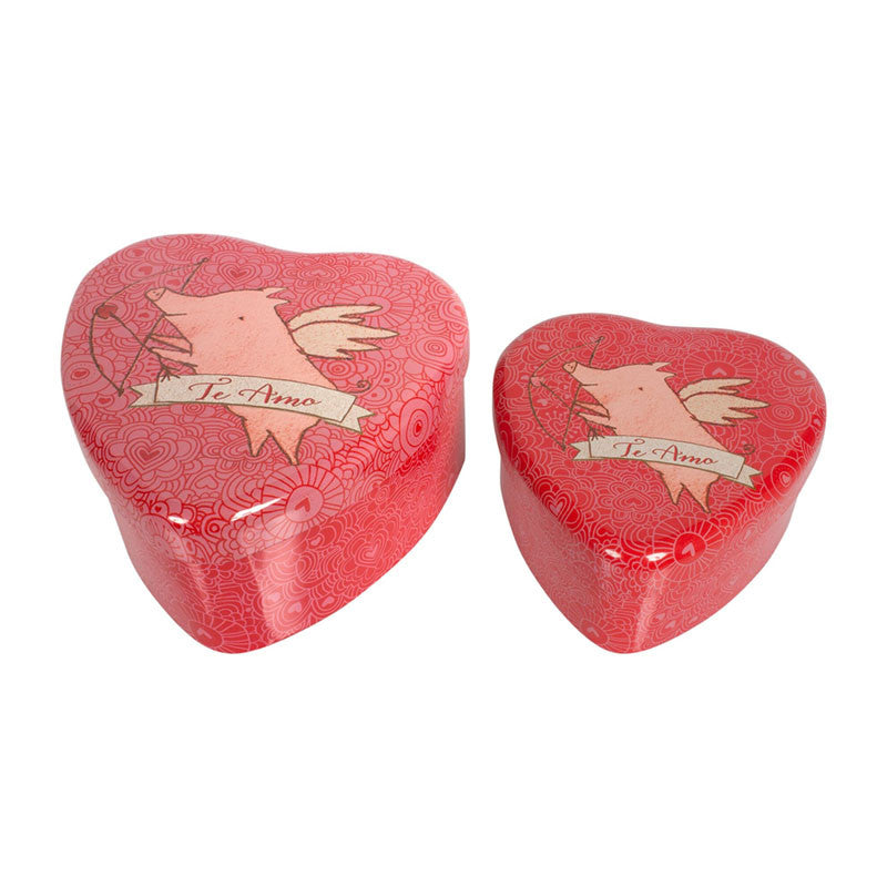 Pig Heart Tin Set by Maileg | Wild & Whimsical Things www.wildandwhimsicalthings.com.au