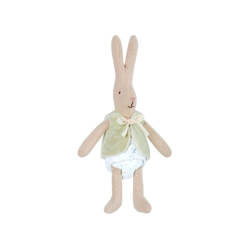Micro Rabbit in Vest by Maileg | Wild & Whimsical Things www.wildandwhimsicalthings.com.au