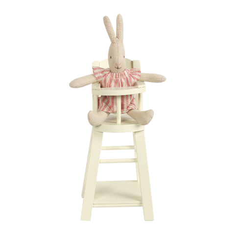 High Chair in offwhite for Micro Bunnies/Rabbits by Maileg | Wild & Whimsical Things www.wildandwhimsicalthings.com.au