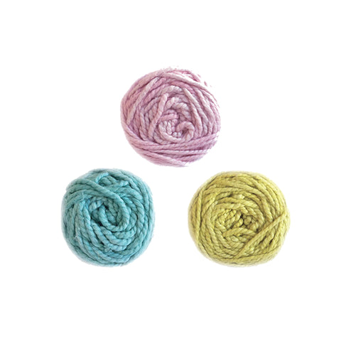 Bulky Plush Mini Yarn Balls by MoYa | Wild & Whimsical Things www.wildandwhimsicalthings.com.au
