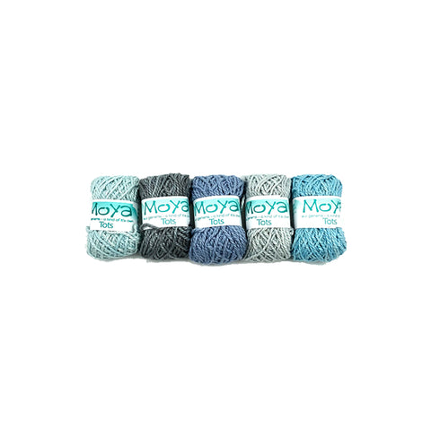 Winter Ombre MoYa TOTS yarn packs | Wild & Whimsical Things www.wildandwhimsicalthings.com.au