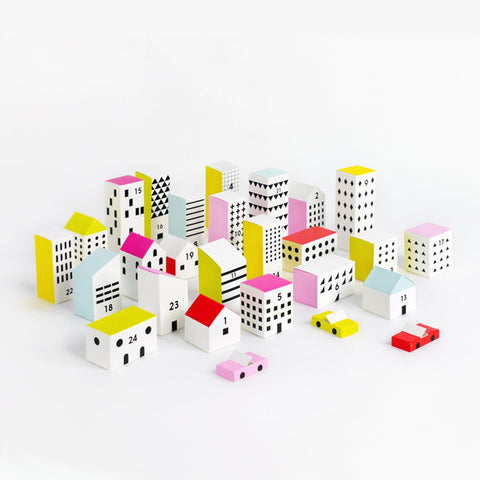 Paper City Advent Calendar by Moon Picnic | Wild & Whimsical Things www.wildandwhimsicalthings.com.au