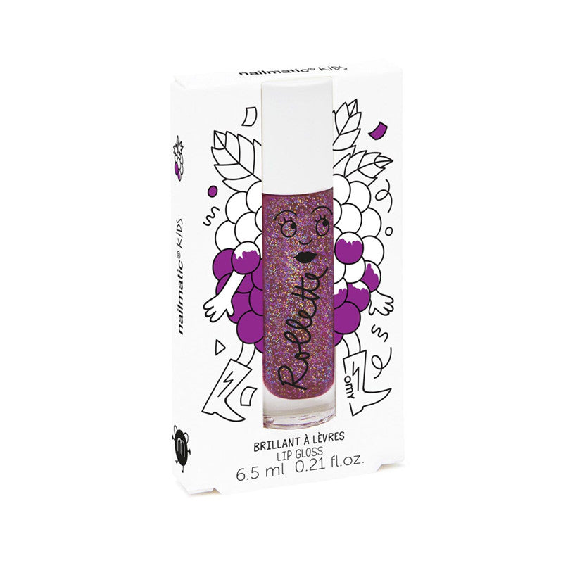 Blackberry Rollette Lip Gloss by Nailmatic KIDS | Wild & Whimsical Things www.wildandwhimsicalthings.com.au